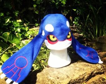 Pokemon fleece hat- kyogre