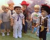 Meet the Boys 18 Inch Boy Dolls Custom Order