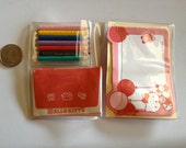 """Vintage Hello Kitty """"Friendly Messages"""" booklet - 1990"""