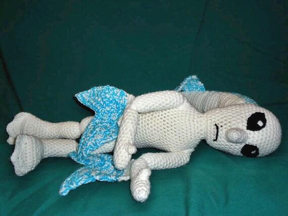 Zora amigurumi pattern - crochet fish pattern - fantasy ...