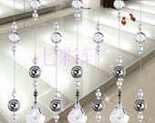 Handmade Room Divider Curtains Crystal Curtains For Home S02