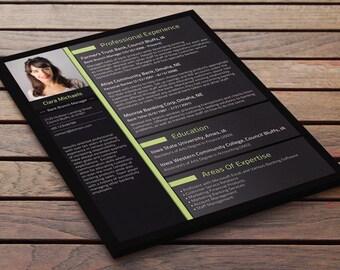 custom resume design etsy