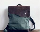 olive canvas backpack, backpack , leather , travel bags , clutch bag ,shoulder backpcak,Student Canvas Backpack Leisure Packs