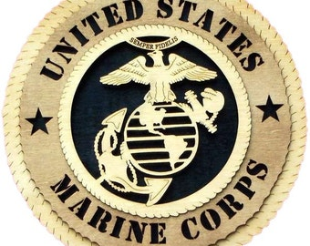 U.S. Marine Corps Personalized Plaque