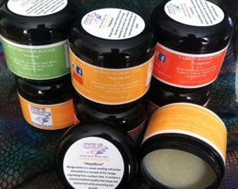All Natural Hair Butters, 4 oz