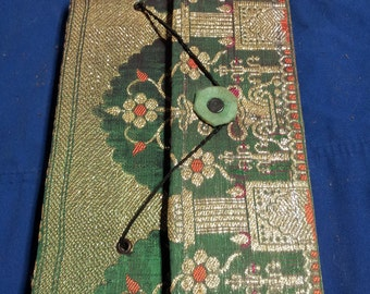 Hand bound Journal with Handmade Paper