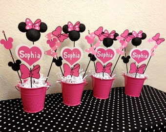 Minnie Mouse Birthday Decorations Red Minnie Mouse Party