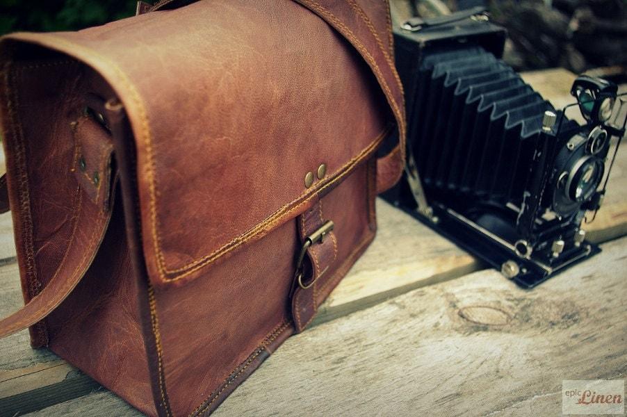 Leather Photography Bag Leather Photography Bag