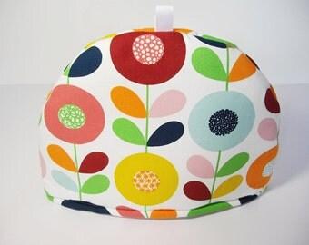Scandinavian flowers fabric Tea Cosy - Cirkelblomma