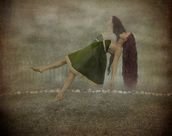 Sharing My Soul - LIMITED EDITION, Matted Print, Surreal, Whimsical, Fine Art Photography