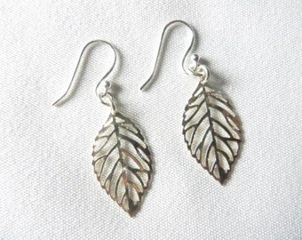 Silver Earrings  Minimalist Earrings Dangle Earrings Gift For Her Everyday Earrings Under 20 Dollars