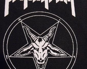 PENTAGRAM patch doom metal black sabbath Free Shipping