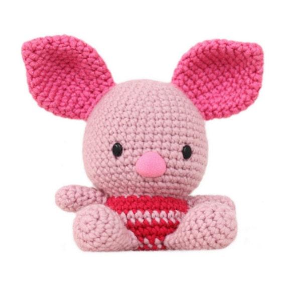 Free Princess Amigurumi Crochet Pattern : Fat Face Piglet Amigurumi Pattern