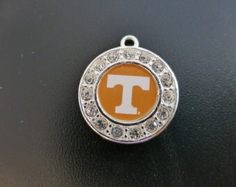 University of Tennessee Volunteers Rhinestone Charm