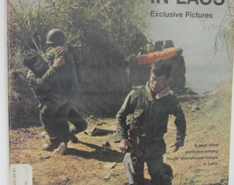 March 12, 1971 LIFE Magazine-The War in LAOS in Photos & ISRAEL's New Frontier Article