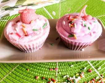 Creamy Cupcake Soap (1)