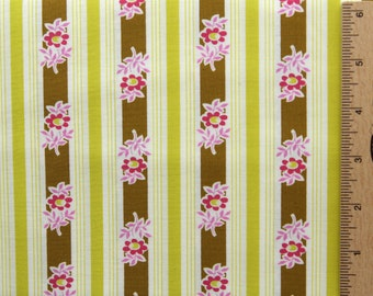 Jennifer Paganelli fabric Poodle Siobahn striped cotton fabric JP37 Yellow Free spirit 100% Cotton sewing/quilting fabric by the yard