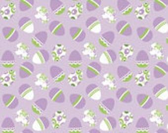 CLEARANCE - Holiday Eastern Egg Purple by Riley Blake Designs - 1/2 yard, C563-PURPLE