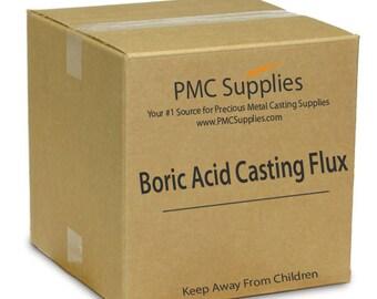 Boric Acid Powder Deoxidizing Casting Flux for Melting Refining Brazing Precious Metals Gold Silver Copper