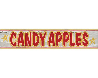 Candy Apples Carnival Kitchen Wall Decal #40793