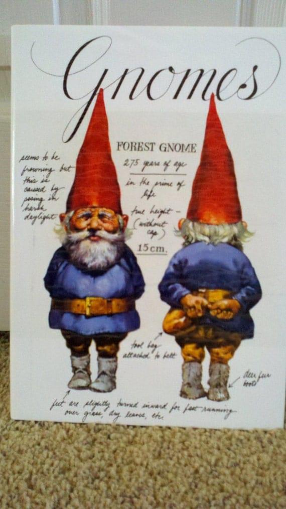 Vintage original Gnomes book from the 1970's