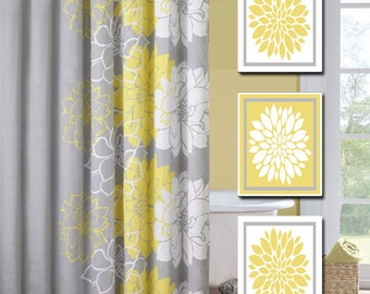 Yellow bathroom decor bclskeystrokes for Yellow and grey bathroom sets