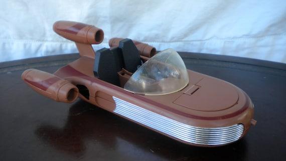 Star wars vintage kenner tatooine land speeder for Home decor kenner