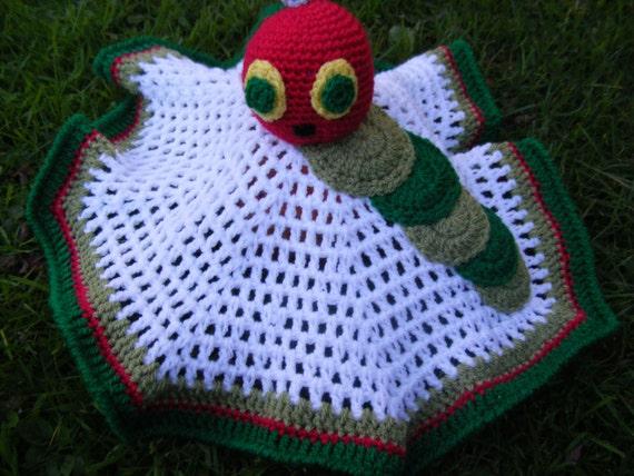 Crochet Caterpillar Baby Blanket Pattern : Pattern to crochet a babys Cute Caterpillar comfort