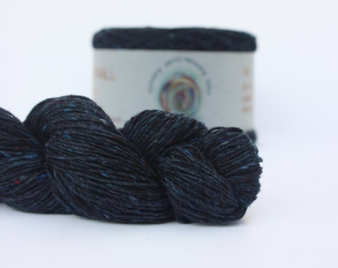 Spinning Yarns Weaving Tales - Tirchonaill 514 Midnight 100% Merino for Knitting, Crochet, Warp & Weft