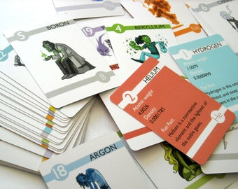 Elements - Experiments in Character Design Flash Cards (small)