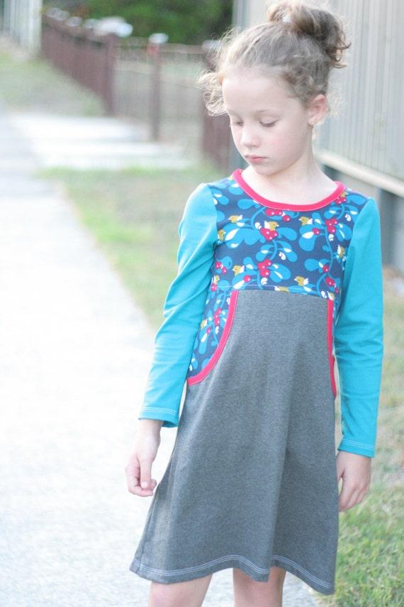 Girl Next Door Dress Pattern Knit Dress Pdf Pattern