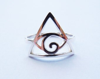 ILLUMINATI Ring in Sterling Silver All Sizes