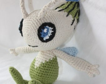 Celebi - Crochet Pokemon
