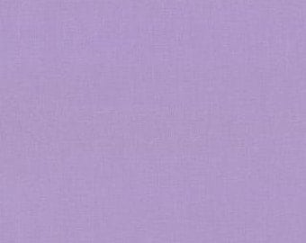 Bella Solid Lilac (purple) Fabric by Moda Basics Fabrics 9900 66 -1/2 yard