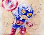 Custom Order Mini Marvels! Avengers Fantastic Four X-men Any Hero Can be A cutie!