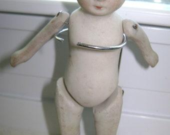 Antique Bisque Nippon Doll