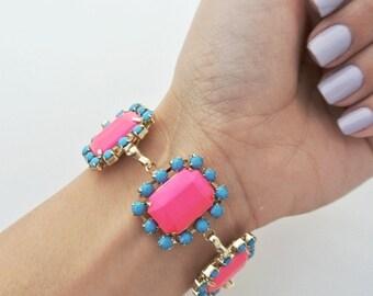 Vintage Inspired: Rhinestone Bracelet
