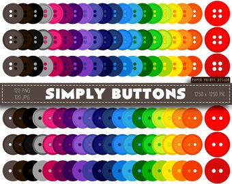 Clipart button – Etsy