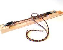 Parachute Cord Survival Bracelet Making Mini Travel Jig