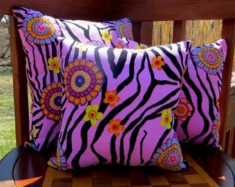Decorative Throw Pillows. Set of three. These are not pillow covers.