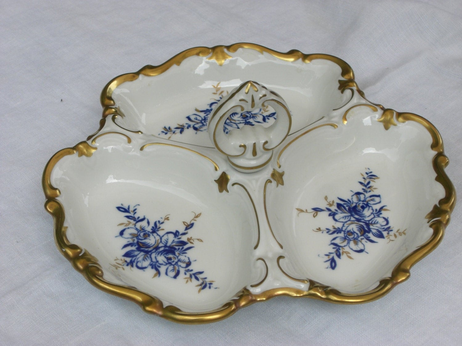 Serving bowl canape server serving dish reichenbach for Canape serving dishes