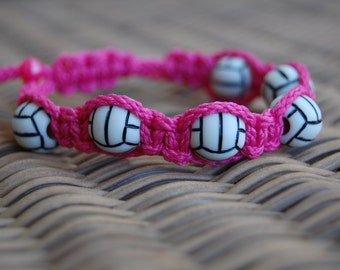 Trendy VOLLEYBALL Bracelet / Trendy VOLLEYBALL Mom / VOLLEYBALL / Volleyball Team / Gift Exchange / Goody Bag / Sports Jewelry /