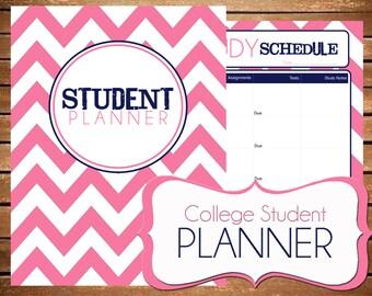 free student planner printables