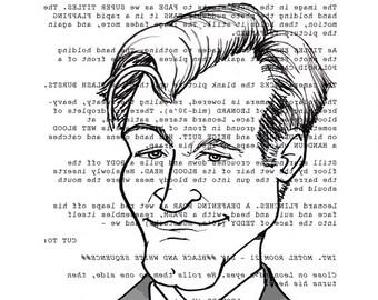 Christopher Nolan Screenplay Portrait (Memento Backwards)