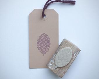 Stamp Pinecone