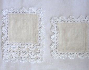 Linen Coasters Set of 4