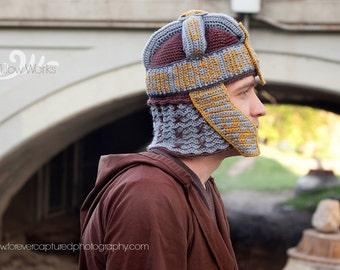 Instant Download - Gimli Inspired Helmet ONLY Crochet Pattern