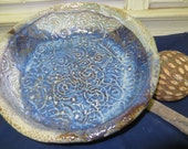 Large Textured Bowl,Unique Pottery