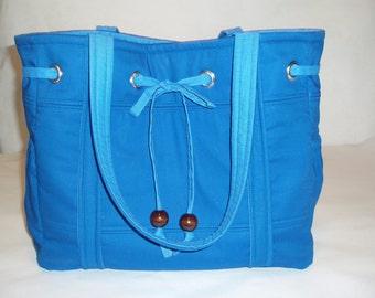 Tote Bag Diaper Bag, Royal Blue