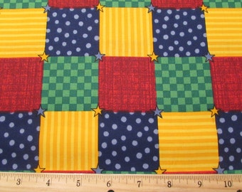 Dream Spinners Fabric Quilting Fabric Blocks Squares From VIP